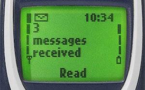 Nokia 3310 Sms