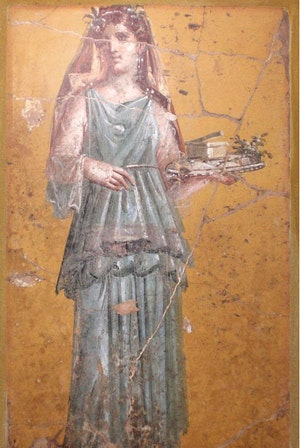 Wall Painting From The Vila San Marco