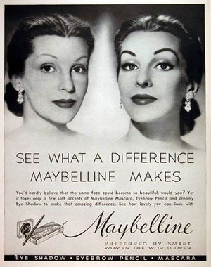 Maybelline Ad 1952