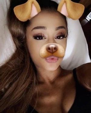 Snapchat Filter Ariana Grande