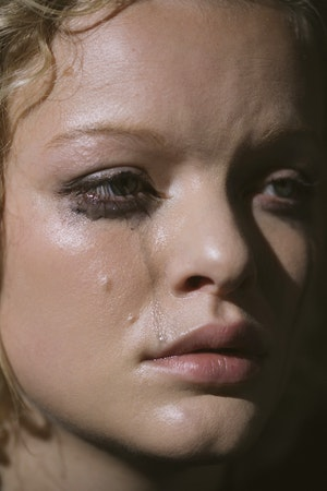 I LOVE YOU MAGAZINE Mascara Cry Test