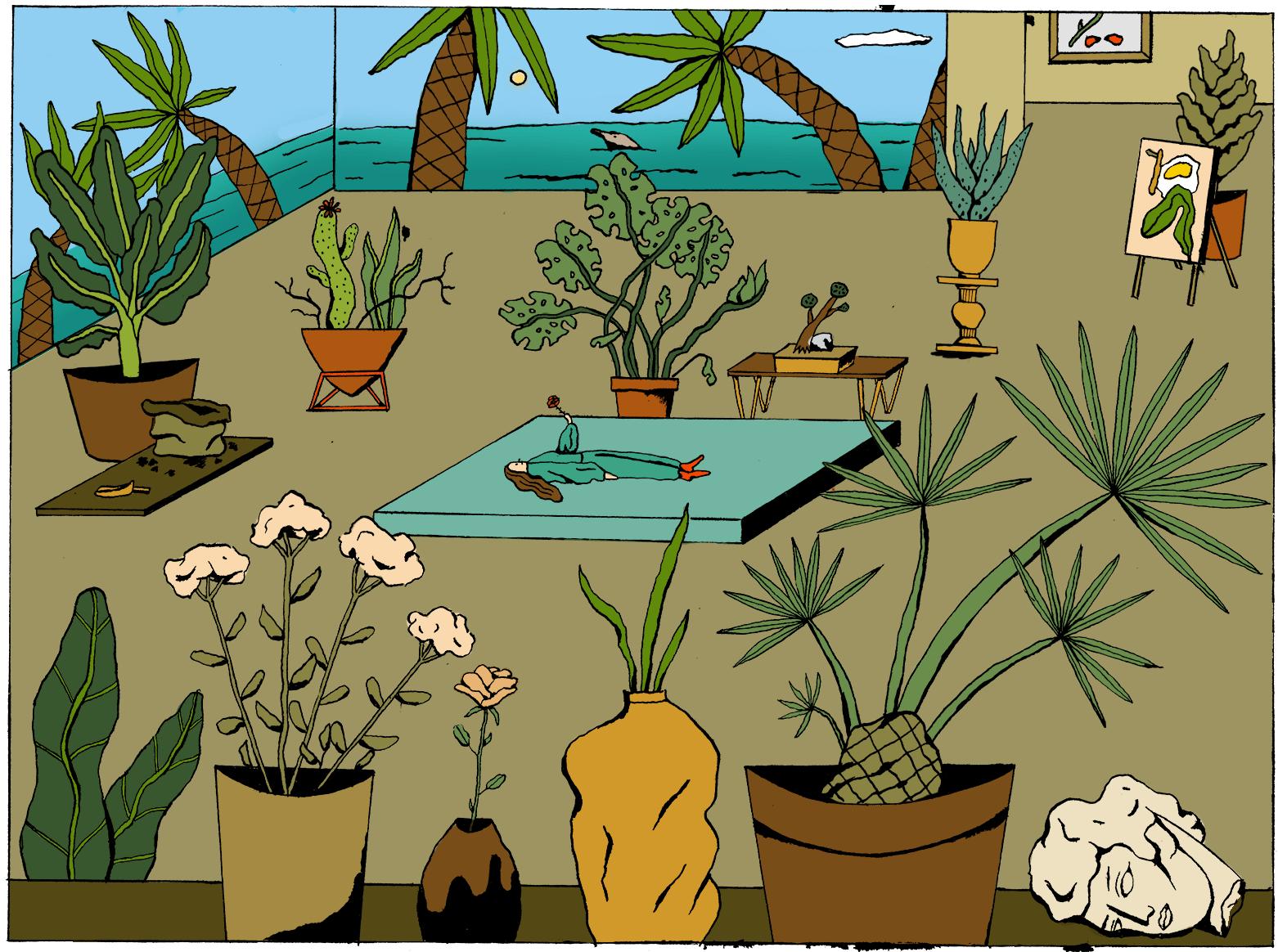 Pflanzenlady Karibikday