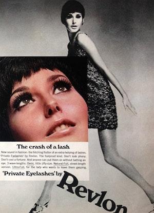 1967 Private Eyelashes Revlon Vintage Ad 750x1038