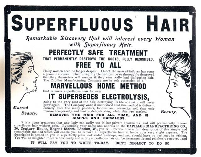 1903 Capillus Manufacturing Co Hair Removal The Pall Mall Magazine April 1903